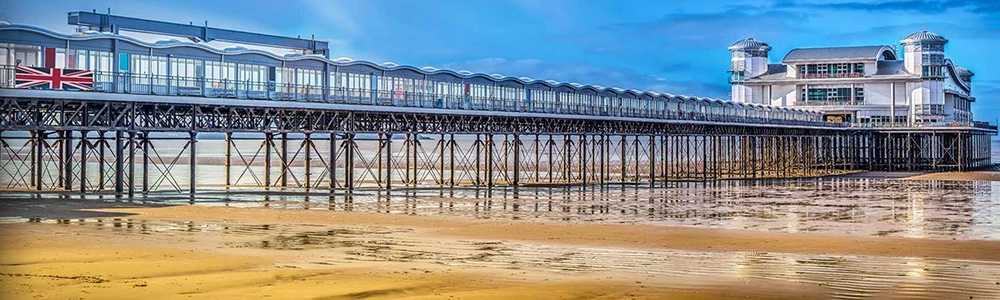 Day at Seaside: Weston-super-Mare